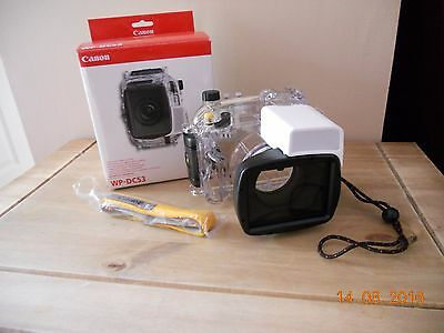 Canon WP-DC53 Underwater Dive Case for G1X Mark II Waterproof 40m / 130ft