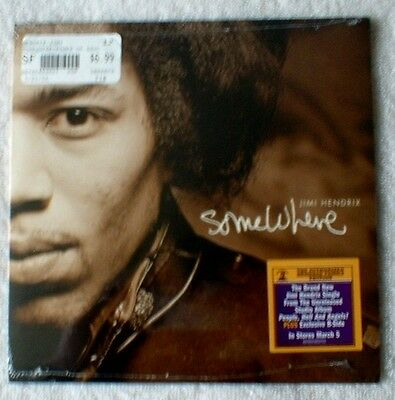 Jimi Hendrix Somewhere & Foxey Lady (Live) CD single Numbered Sealed Exclusive