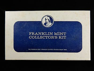 Franklin Mint 1970's Collector's Kit w/Extras