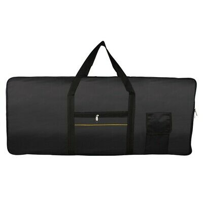Portable 61-Key Keyboard Electric Piano Padded Case Gig Bag Oxford Cloth F6