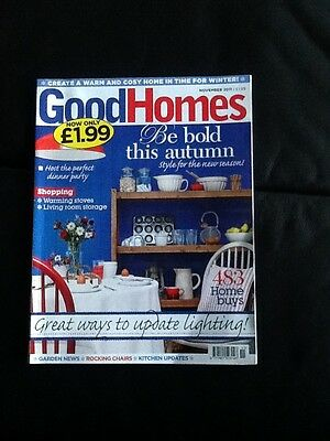 Good Homes Magazine November 2011