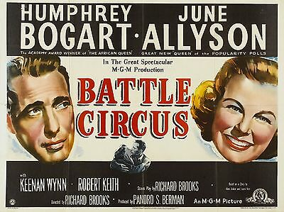 """Battle Circus 16"""" x 12"""" Reproduction Movie Poster Photograph"""