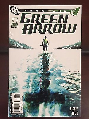 Year One: Green Arrow Complete Mini-Series 2007 Andy Diggle