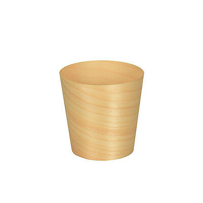 "500 Fingerfood - Schalen Holz ""pure"" rund Ø 6 cm 6 cm Party Catering"