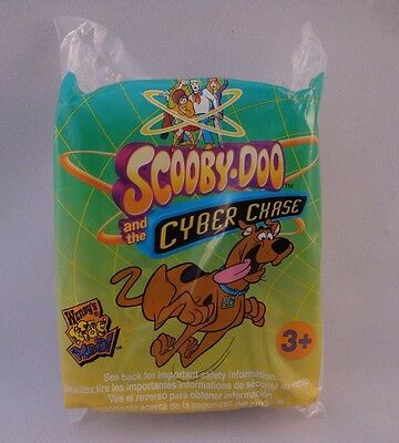 Wendy's Kids Meal Toy Scooby Doo Cyber Chase Glow in the Dark Puzzle New