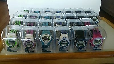 Vintage New Set of 26 Multi-Color Shock Resistant Baby Watch(NOT BABY G-SHOCK)