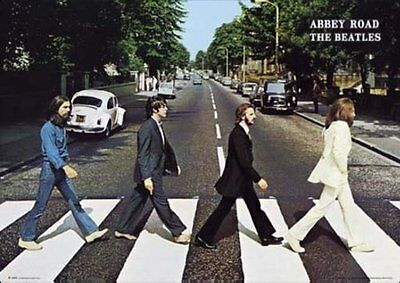 Tha Beatles Abbey Road Poster Print Wall Art Home Decor Music Memorabilia 24x36