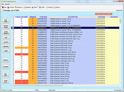 Ultimate Retail Sales, Inventory of Stocks Tracking Software for Windows-barcode