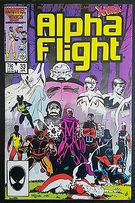 ALPHA FLIGHT #33 (1983 1st SERIES) *1st APPEARANCE OF LADY DEATHSTRIKE* NM