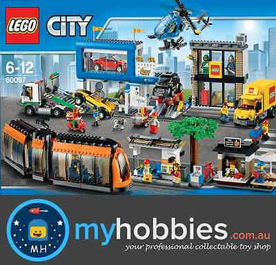 LEGO 60097 City City Square Brand New and Sealed