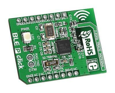 MCU/MPU/DSC/DSP/FPGA Development Kits - ADD-ON BOARD NRF8001 BLE P CLICK