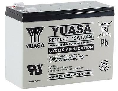 Batteries - Rechargeable - BATTERY REC10-12 12V 10AH
