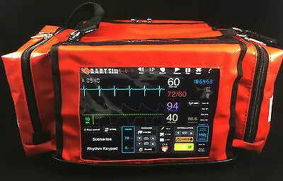 Cardiac Monitor & Defib Simulator for ACLS, PALS, ECG, Nursing and Paramedics