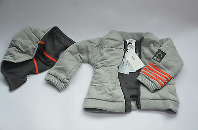 Hugo Boss Baby Reversible Coat 3 Months Size 60 New With Mark + Tags J95061/a30