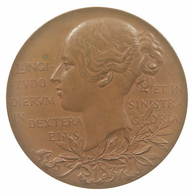 Medal, Victoria Diamond Jubilee, Official, Bronze, Large 56Mm, 1897