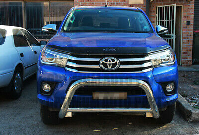 """TOYOTA Fortuner Nudge Bar 3"""" Stainless Steel Grille Guard 2015 2016 2017"""