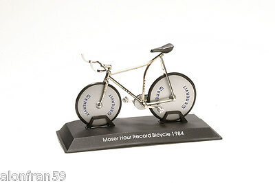 Collection Bicycle 1:15 scale Moser Hour Record Bicycle 1984 Diecast BIC019