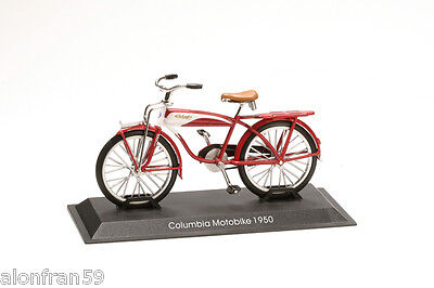 Collection Bicycle 1:15 scale Columbia Motobike 1950 Diecast BIC051