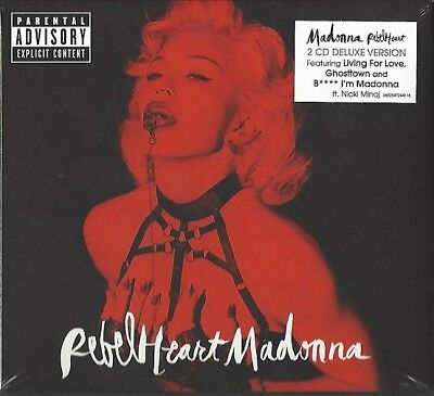 Madonna / Rebel Heart - Limited Super Deluxe Edition * New 2Cd * Neu *