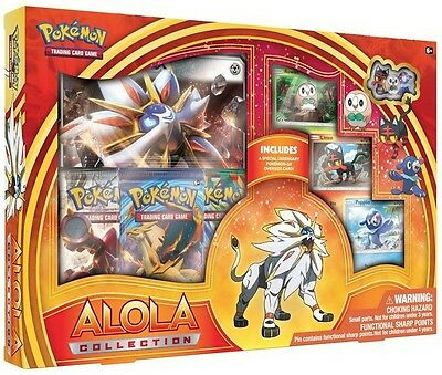 Pokemon TCG: Alola Collection - Sun :: Solgaleo GX :: Brand New And Sealed Box!