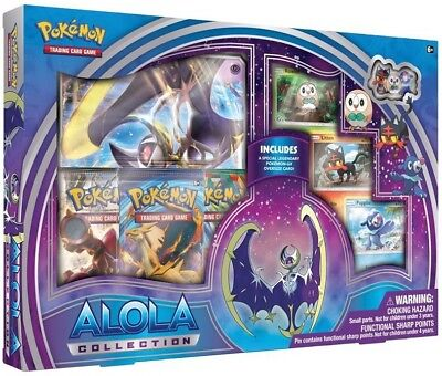 Pokemon TCG: Alola Collection - Moon :: Lunala GX :: Brand New And Sealed Box!