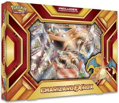 Pokemon TCG:  Charizard EX Box - Fire Blast :: Brand New And Sealed Box!