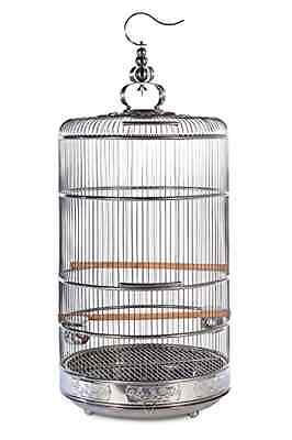 Bird Cage Prevue Pet Products Dynasty Stainless Steel Porcelain Food Water Cups