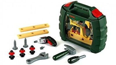 Bosch Tool Case Kids Mini Toy Tool Set In Carry Case Power Screwdriver
