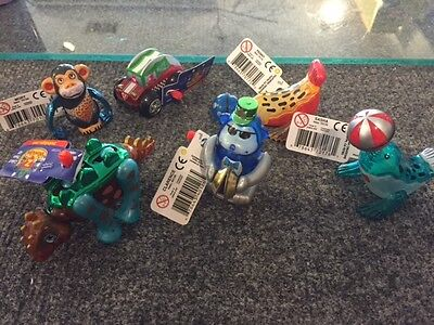 NWT Lot of 6 Z Wind-Ups Walking Toy Penny Dusty Mort Stuey Clarence Sasha (5