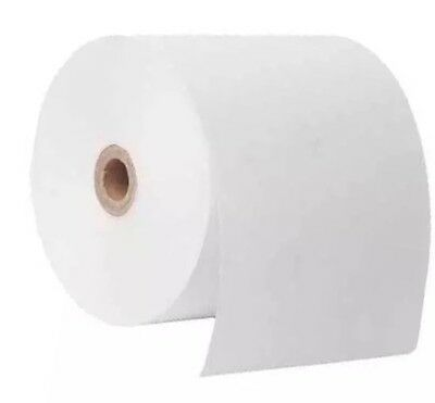 76mm x 76mm x 12mm (50's) 1 Ply Bond Paper Rolls