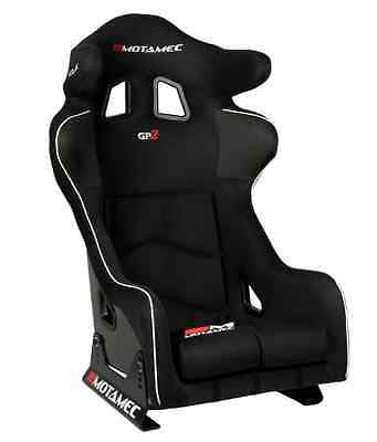 Motamec Racing �� GP-2 FIA Approved Race Rally Bucket Seat GRP Side Mount BLACK