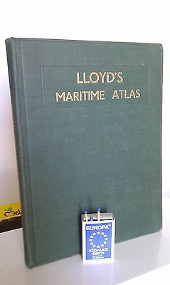 Lloyd's Maritime Atlas, Ports And Shipping Places Of The World, 1953