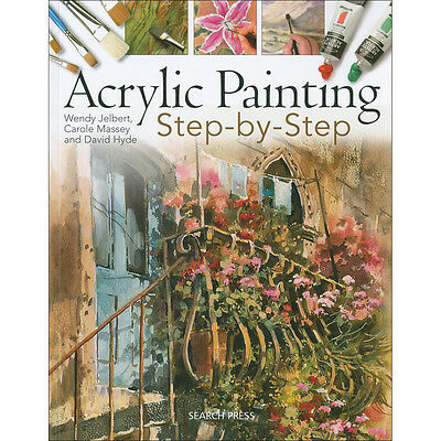 Search Press Books Acrylic Painting Step By Step SP-4119