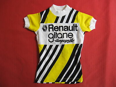 Maillot cycliste Renault Gitane Campagnolo Vintage cycling 70'S jersey - 5 / 6