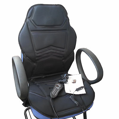 Xmas Gift Motors Back Massage Seat and Cushion Car Home Office Relaxing Warm