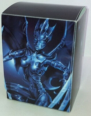 Yugioh Max Protection Cyber Angel Deck Box w Divider (Holds 75 Cards)
