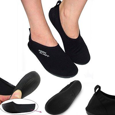 Best Shusox barefoot water shoes cushion slipper slip-on flexible flat for yoga