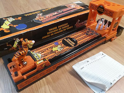 Disney Store - TIGGER BOWLING GAME --   Winnie The Pooh Toy Complete w/Box  BOWL