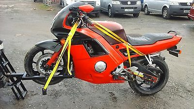 motorbike towing dolly motorcycle trailer  carrier tow bar motor cross A frame