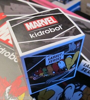 KIDROBOT MARVEL LABBIT MINI SERIES 2 by Frank Kozik - 1 x Caja