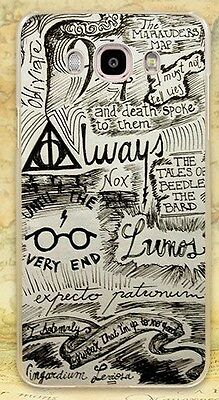 Harry Potter Map Style Rigid Case Cover Coque Fundas Shell For All Phone Models