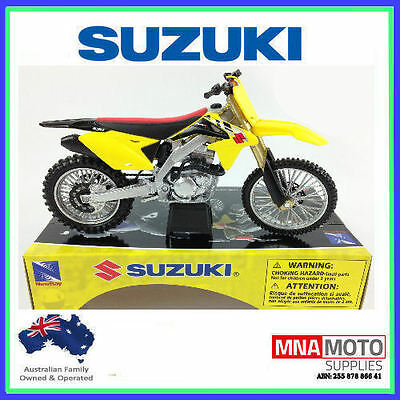 Suzuki Rmz 450 2014 Toy Model Diecast 1:12 Scale