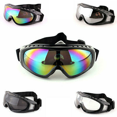 Kids Boys Girls Goggles Dust Wind Motorcycle Helmet Outdoor Sports Sunglasses
