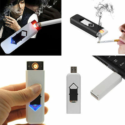 NEW USB Lighter Flameless Electrical Cigarette Lighter Rechargeable Battery XG
