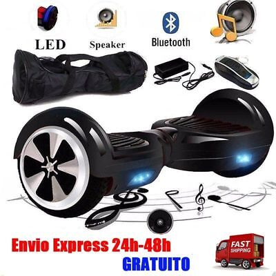 Eléctrico Patinete Scooter Hoverboard Bluetooth Selfbalancing Mando + Bolso YB