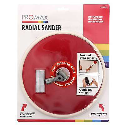 Radial Sander Head Universal Adaptor Free Spinner Head Quick Disc Change Promax