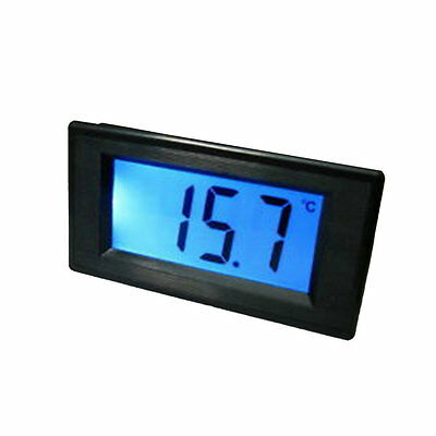 Thermometer Digital LCD Temperature Meter Gauge With Probe Power 9-12V BY
