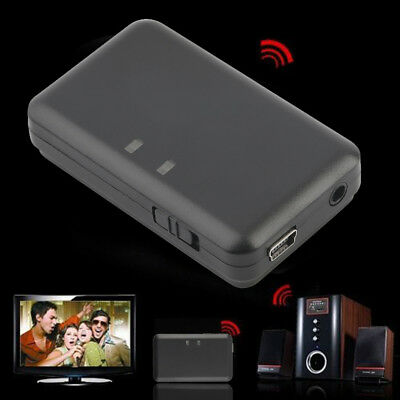 3.5mm Stereo Audio A2DP Bluetooth Music Receiver For TV DVD MP3 BY