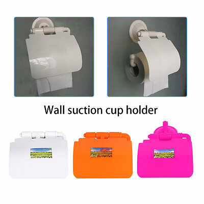 ABS Suction up Paper Holder for Toilet Bathroom Wall Mount Toilet Accessories BY
