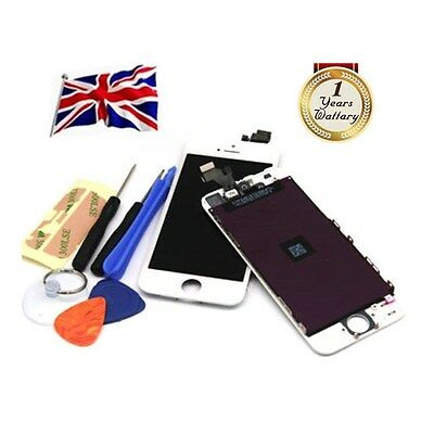 For iPhone 5 LCD Digitizer Touch Screen Display Assembly Replacement White UK